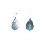 Boucles d'oreilles S Soleil bleu ciel