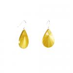 Boucles d'oreilles S Soleil jaune