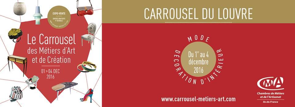 Carrousel des Metiers d'Art et de Création - 01 au 04 décmbre 2016