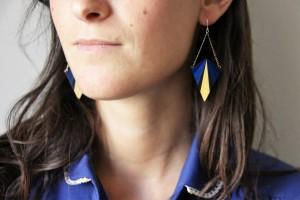 Boucles d'oreilles 80'S