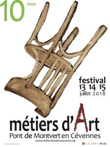 affiche festival metier d'art 2018