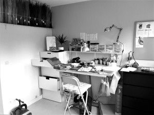 atelier noir et blanc net